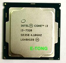 SR358 Intel Core i3-7320 4MB LGA 1151 DUAL-CORE CPU Core i3 7th Gen Socket H4