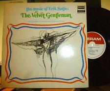 """ERIK SATIE """"The Velvet Gentleman"""" CAMARATA CONTEMPORARY LP Gatefold  NM/VG+"""