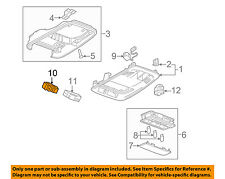 Chevrolet GM OEM 16-18 Cruze Overhead Console-Switch 13440111