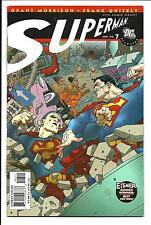 ALL STAR SUPERMAN # 7 (DC COMICS, GRANT MORRISON, FRANK QUITELY, JUNE 2007) VFN