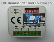 Handsender für Beninca 433 MHz Funk Fernbedienung T2WV E T4WV TO GO 2WV E 4WV