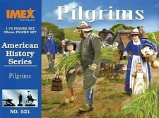Pilgrims American History Series Imex 1/72 Scale Plastic Toy Soldiers #521