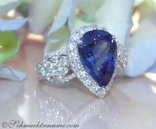 Echte Edelstein-Ringe mit Tropfen für Damen