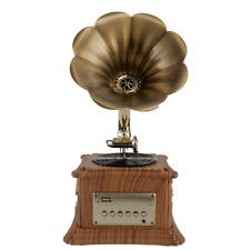 Grammophon Plattenspieler Bluetooth | Nostalgie Musikanlage | Retro Stereoanlage