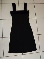 Robe De Soirée / Habillée Bi-Matière Bretelles Velours Taille 36 Neuve MORGAN