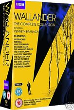 Wallander Complete Series 1+2+3+4 [BBC](DVD)~~~Kenneth Branagh-UK~~~NEW & SEALED