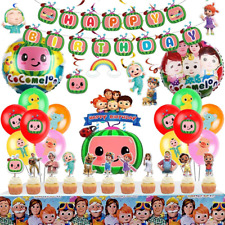 Coco-melon Birthday Party Supplies for Kids, Coco-melon Party Supplies Include A