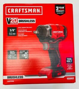 NEW Craftsman CMCF910B 20V 3/8 inch Brushless Impact Wrench Tool Only
