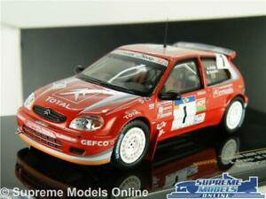 CITROEN SAXO S1600 MODEL RALLY CAR 1:43 SCALE 2004 IXO ARAUJO PORTUGAL RAM226 K8