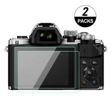 2X EM10iii Screen Protector Tempered Glass for Olympus E-M10 Mark III / E-M5ii