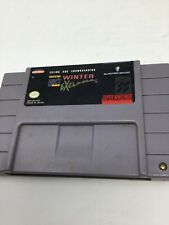 Skiing And Snowboarding Tommy Moe's Winter Extreme Super Nintendo Snes 1992 Used