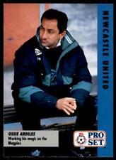 Pro Set Football Fixtures 1991-1992 Newcastle United Ossie Ardiles #36
