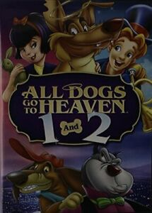 ALL DOGS GO TO HEAVEN 1 & 2 (WS) NEW DVD