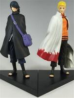 NARUTO Adult Uzumaki Naruto Uchiha Sasuke Anime Cosplay Action Figures 2PCS Gift