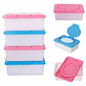 New Wet Tissue Storage Box Dispenser Plastic Case Home Car Office Wipes Holder