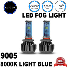 2pcs High Power Headlight 8000K 60W 9005 High Beam LED Light Bulbs Headlamp