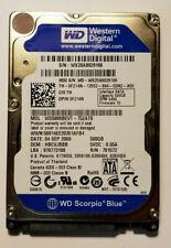 """Western Digital Scorpio Blue 500GB Internal 5400RPM 2.5"""" (WD5000BEVT) HDD"""