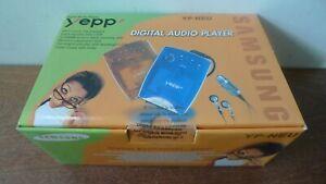 Vintage MP3 Smart Media Card Player SAMSUNG Yepp YP-NEU + Remote Control