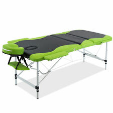 Massage Table 3 Fold Bed Therapy Portable Beauty Waxing Free 4 Covers Carry Bag