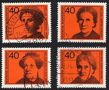 Historical Figures Used Postage European Stamps