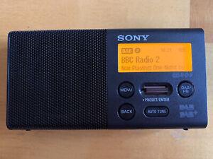 Sony XDR-P1DBP Pocket DAB/DAB+ Radio Black In Great Condition.