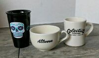 Lot of 3 Colectivo Alterra Coffee Mugs Milwaukee Wisconsin