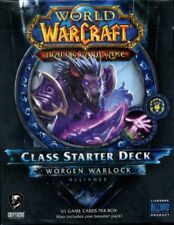 New Sealed Class Starter Deck Worgen Warlock Alliance World of Warcraft WoW TCG