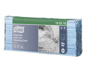 Tork 190578 Industrial Low-Lint Cleaning Cloth 80 Sheets Per Pack