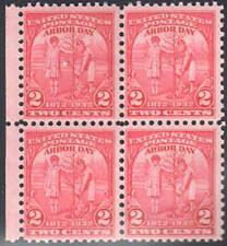 Sc#717 - 2c 1932 Arbor Day Issue Block of 4 Mnh