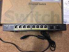 Zyxel Switch GS1900-10HP 8-2sfp POE
