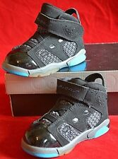 JORDAN RETRO 6 17 23 Black Concord Basketball TD SIZE 5C 428820-001 Toddler shoe