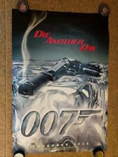 "007 ""Die Another Day"" original 2002 Teaser one sheet, Rolled, DS, 27x40"
