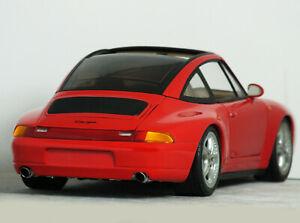 """1:18 Vintage UT Models """"PORSCHE 911 type- 993 TARGA"""" (Red) RARE #27821 HTF turbo"""