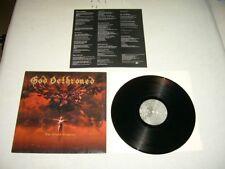 God Dethroned --- RARE ORIGINALE 1997 the Grand Grimoire LP!!! Black Death Metal