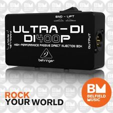 Behringer Ultra-DI DI400P Passive DI-Box DI-400P - Brand New - Belfield Music
