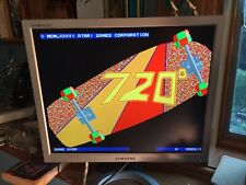Atari 720 Arcade PCB Set, CPU and Video Boards Working