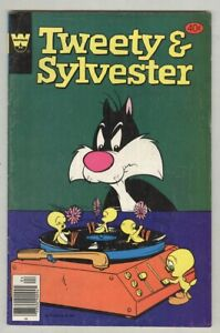 Tweety and Sylvester #92 April 1972 VG Whitman variant, Record Player cover