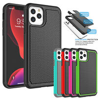 "For iPhone 11 6.1""/ 11 Pro Max 6.5"" Phone Case Silicone Hybrid Shockproof Cover"