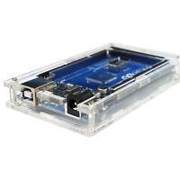 Transparent Acrylic Case Shell Enclosure Box+Screws For Arduino MEGA 2560 R3