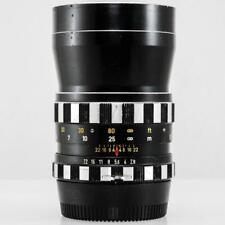 Steinheil Munchen Auto-D-Tele-Quinar 135mm f/2.8 Lens for Nikon F Non-Ai  (BGN)