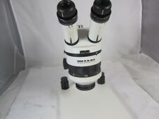Wild Heerbrugg M5A Stereo Microscope +Table Top Stand, wild 10x eye pieces