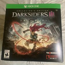 Darksiders 3 Collectors Edition Xbox One RARE BRAND NEW FACTORY SEALED U.S.A