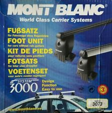 MONT BLANC 3073 FOOT PACK - SYSTEM 3000