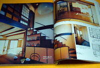 Japanese style house and tearoom architecture photo book from Japan rare #0045