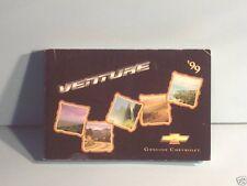 99 1999 Chevrolet Venture owners manual