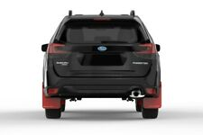 Rally Armor Mud Flaps For Subaru 2019+ Forester Red w White Logo