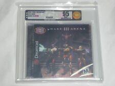 NEW Quake III Arena Sega Dreamcast VGA 95 UNCIRCULATED Mint Gold Graded Game 3
