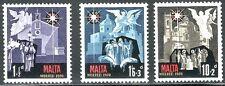 SELLOS NAVIDAD MALTA 1970 419/21 3v.