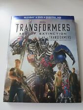 Transformers: Age of Extinction Blu-ray (With Slipcover)