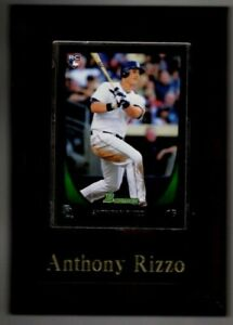 Baseball Card Plaque Anthony Rizzo, Padres/Cubs 2011 (RC) Bowman #70~NM/MT